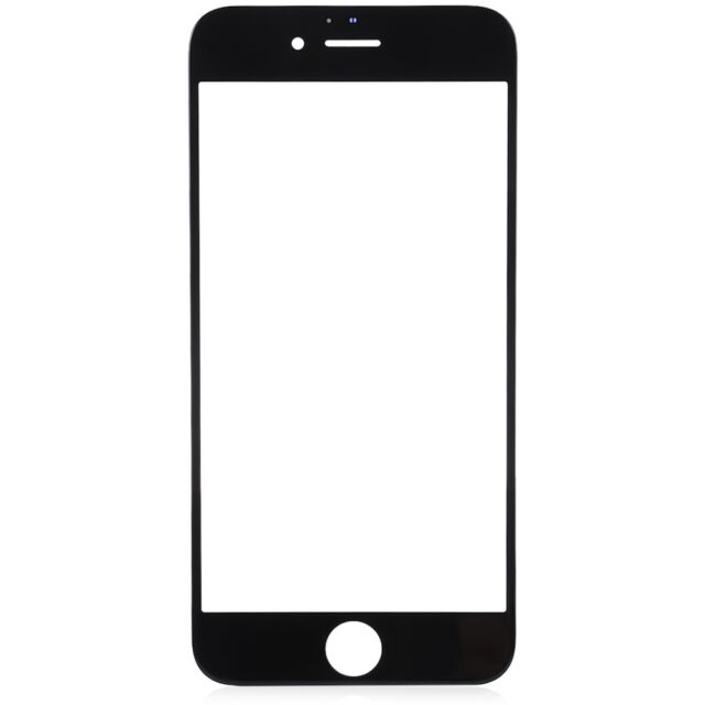 for black apple iphone 8 plus 5 5 u0026quot  replacement front outer lcd screen glass lens for sale online