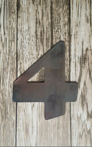 METAL LETTERS NUMBERS SIGN HOME SHOP BAR ADVERT LETTER DISPLAY 5 6 7 8 INCH