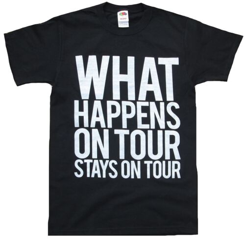 Bambini kids what happens on tour Stay On Tour Rock Star Vip T-shirt 152 10-12 Y.