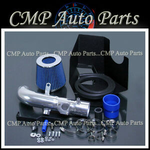 blue 2002 2006 toyota camry base le se xle 2 4 2 4l cold air intake kit systems ebay. Black Bedroom Furniture Sets. Home Design Ideas