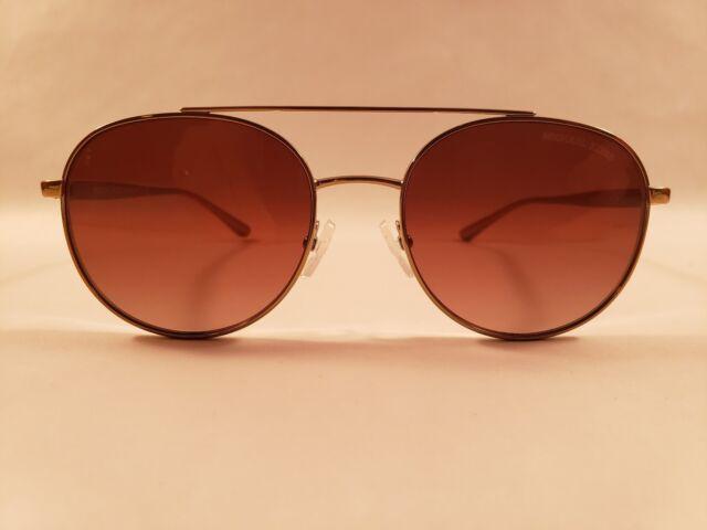 a6663b11b8b91b Michael Kors Women s Lon MK1021 MK 1021 116813 Gold Pilot Sunglasses 53mm