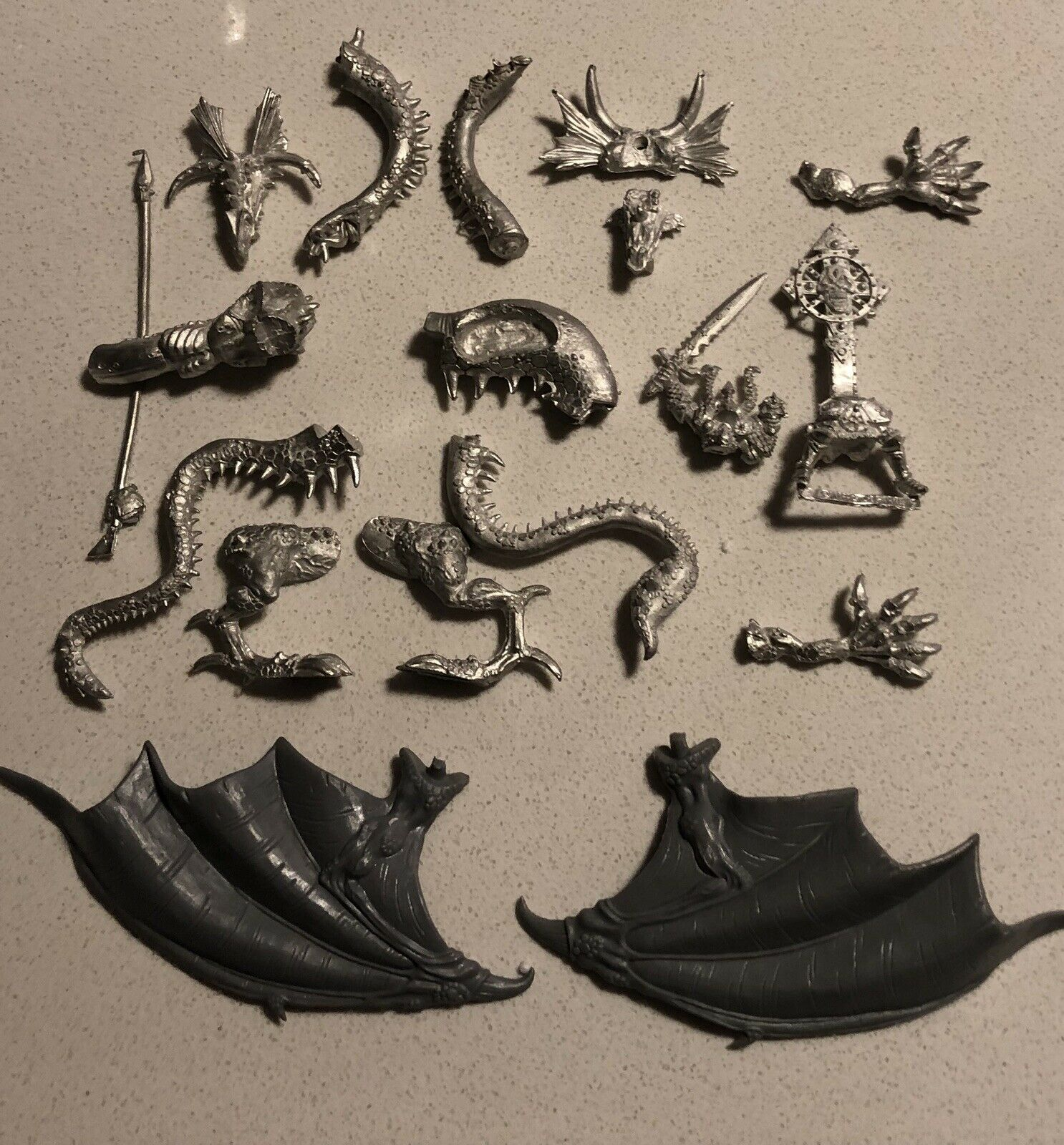 EGRIMM VAN HORSTMANN ON CHAOS DRAGON OOP METAL WHFB