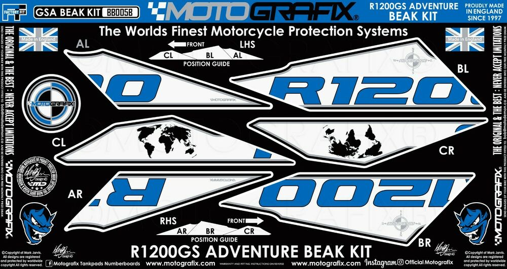 Tankschutz Pour Kawasaki Moto Revêtement de réservoir Kawasaki Ninja zxr6r zx10r