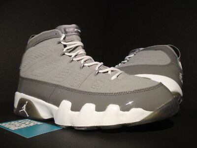 brand new 598d1 7626b 2002 NIKE AIR JORDAN IX 9 RETRO COOL GREY WHITE BLACK CHARCOAL OG 302370-011
