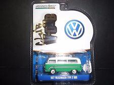 Greenlight Volkswagen Type 2 Bus 1977 Green V Dub 1/64 29840
