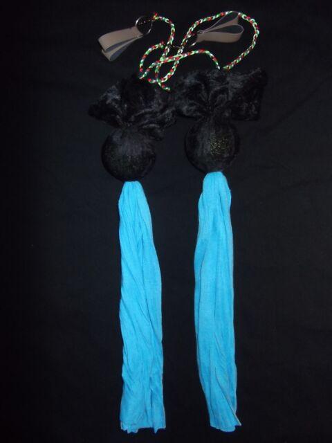 Rainbow Dragon Comet Tail POI (Velvet/Twirling/Practice/Juggling/Circus)