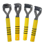 Smart Tails Yellow Easi-Grip Mane /& Tail Thinning Comb