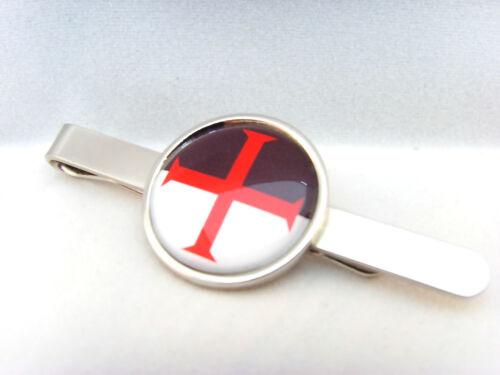 Ordre Du Temple Protection Croix Crusade Franc-Maçon Badge Pince à Cravate Noeud