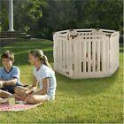 Richell 6 Panel Convertible Indoor/Outdoor Pet Playpen - 94192