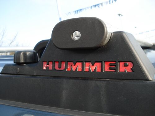 Hummer H2 Luggage Roof Rack Decals 03 04 05 06 07 08 09 AND SUT