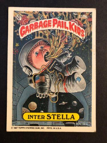 SIDE PIECE Garbage Pail Kids GPK Original Series 8 #318B Inter STELLA NON-MINT