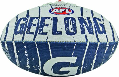 AFL GEELONG CATS SIZE 2 CLUB LOGO FOOTBALL BRAND NEW