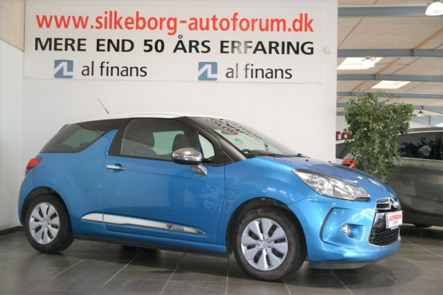 Citroën DS3 1,6 e-HDi 90 Style Diesel modelår 2012 km…