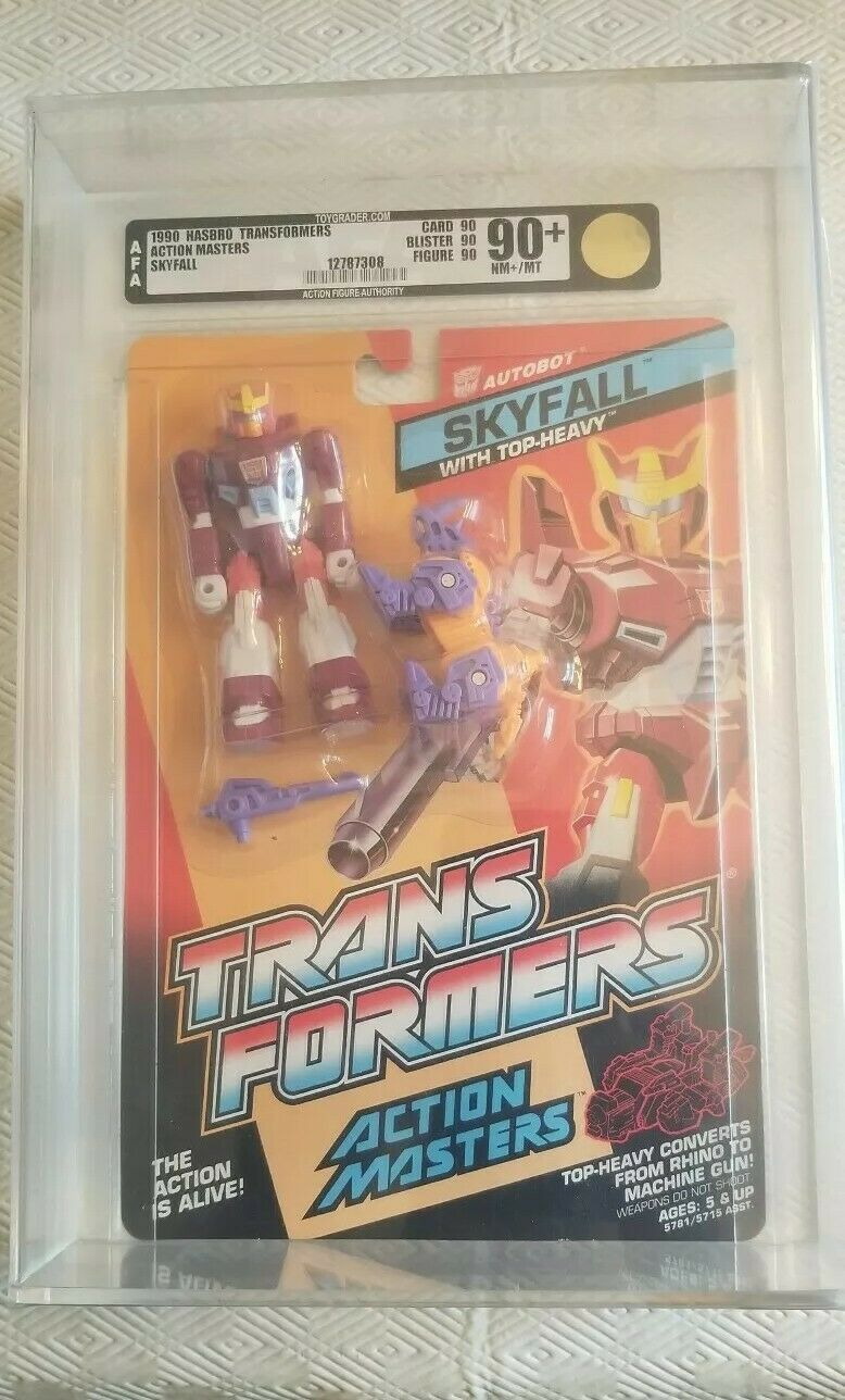 Transformers Action Masters Skyfall (Hasbro 1990) AFA 90+ 90 90 90