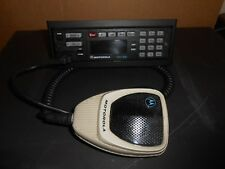 Lot Of 2 Motorola Astro Hln6432d With Mounting Bracket And Hmn1080a Microphone