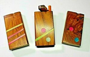 bat dugout pipe dugout bat dugout one hitter tobacco pipe smoking pipe Handcarved Wooden Dugout tobacco box wood dugout