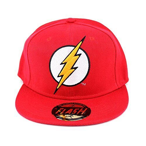 e082c7e7e97 DC Comics The Flash Classic Logo Red Snapback Cap for sale online