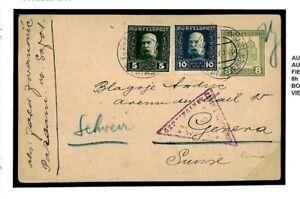 Livraison Rapide M228a Autriche Serbie Militaire Ww1 Post Card 1917 {samwells} Prix De Rue