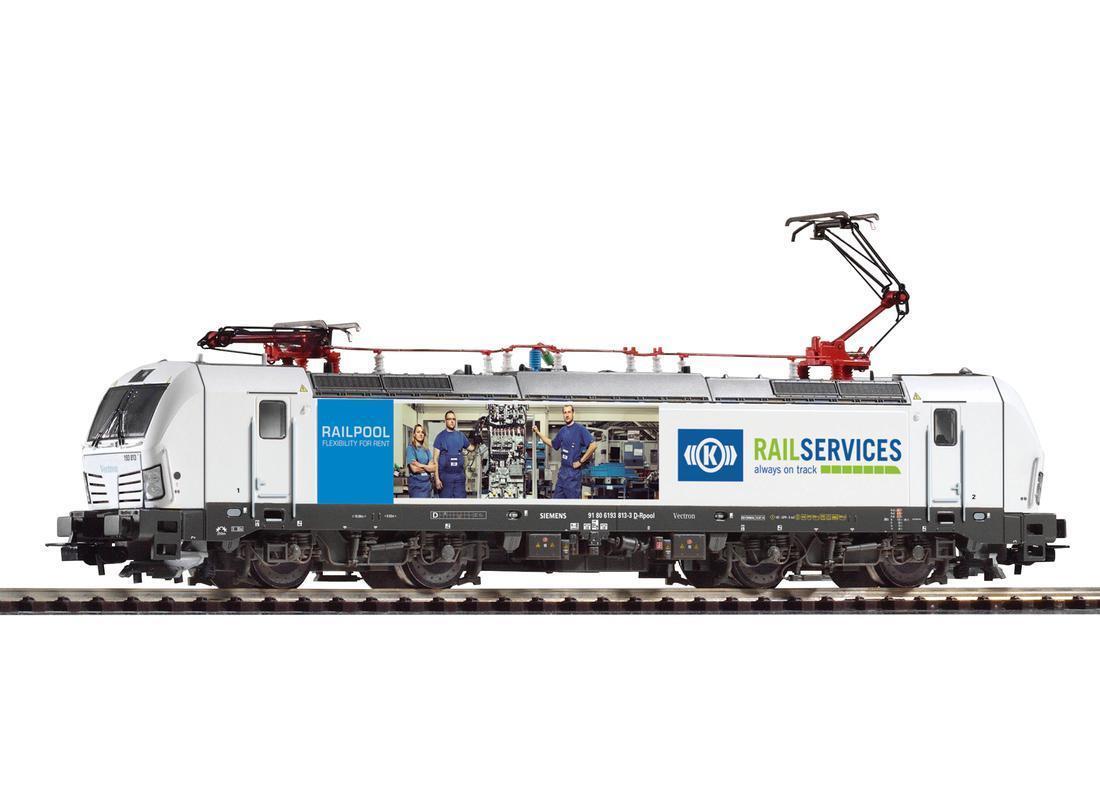 PIKO EXPERT 59877 AC Digital Vectron 193 813 Knorr-Bremse railservices uvp175 -
