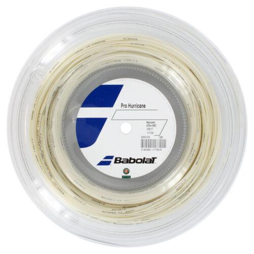 BABOLAT PRO HURRICANE 1.25 mm//17 G 200m Reel-Stringa di tennis