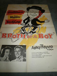 BROTH-OF-A-BOY-1959-BARRY-FITZGERALD-ORIGINAL-BRITISH-ONE-SHEET-POSTER