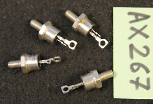 Lot de 4 x thyristor 2N3657   Thomson ( AX267 )