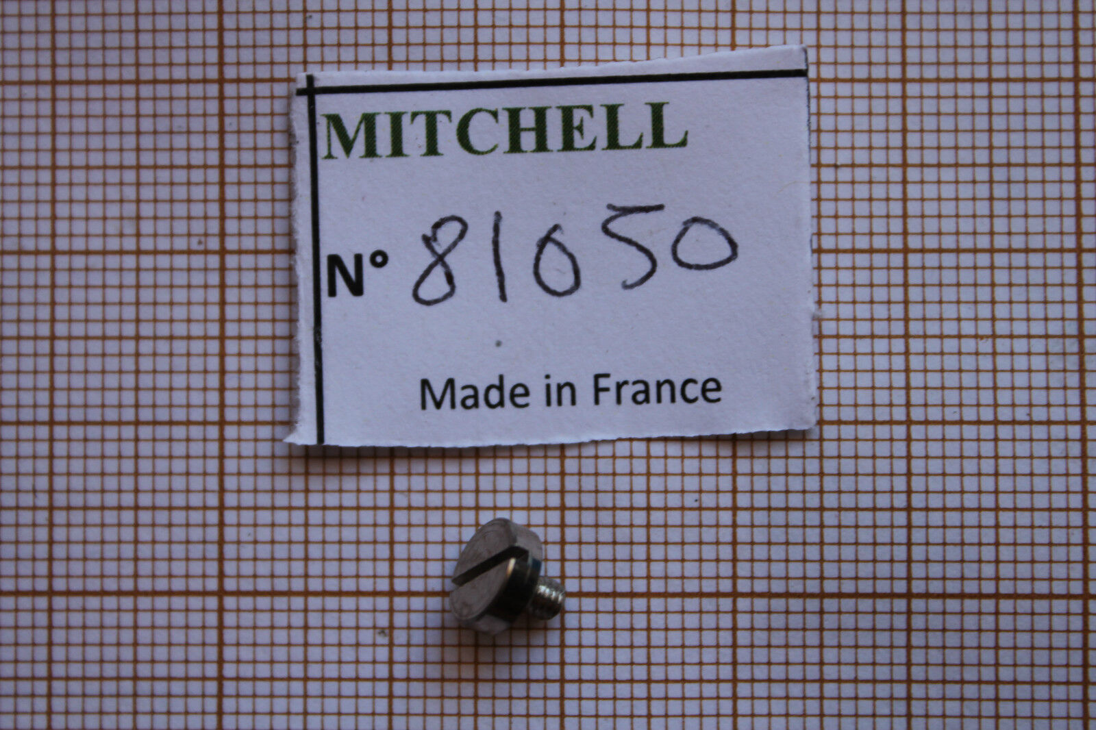 50 300 TRIP LEVER SPRING SCREW REEL PART 81050 VIS 300 50 & divers MOULINETS MITCHELL ddb116