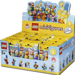 LEGO-71009-BOX-COMPLETO-SIGILLATO-60-BUSTINE-MINIFIGURE-SIMPSONS-SIMPSON-SERIE-2