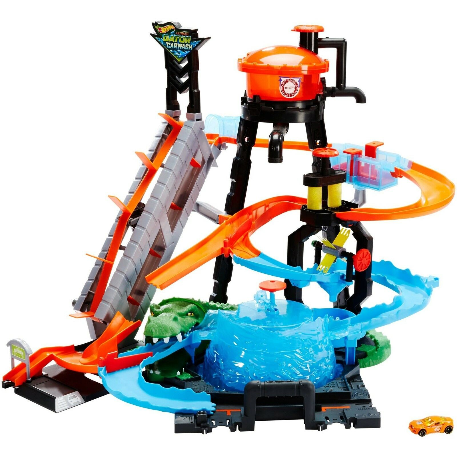 HOT WHEELS Ultimate Gator Lavage Voiture Playset