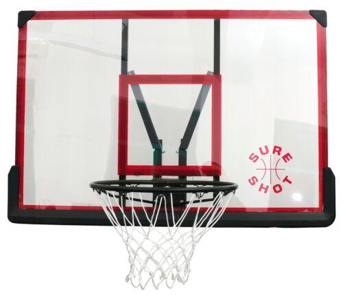 Sure Shot Acrylic Basketball Backboard /& Ring