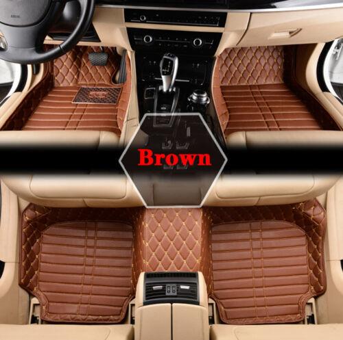 Auto Car Floor Mats Professional Waterproof Mat For BMW 535i GT 2010-2016 GS01