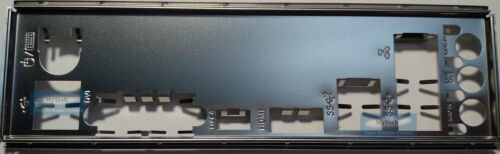 ASUS I//O IO SHIELD BLENDE BRACKET TUF Z370-PLUS GAMING
