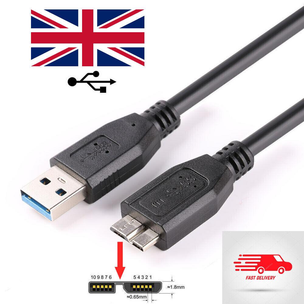 USB 3.0 Lead for Transcend Military Grade Shock Resistance External Hard Drive