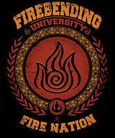Avatar Last Airbender Aang Korra Fire Bending Zuko Limited Edition T-shirt M-2xl