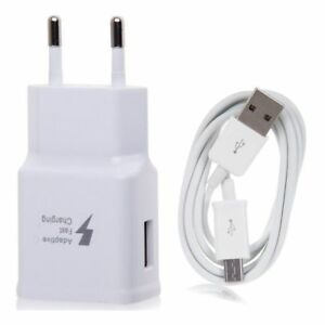 CaricaBatterie-Rapido-Caricatore-Fast-Charging-Cavo-2M-MICRO-USB-Samsung-S6-S7