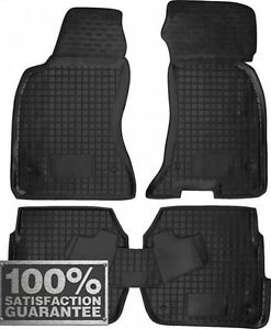 Rubber Carmats For Audi A6 C5 1998 2005 All Weather Floor Mats Fully