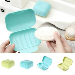 1598fbc76da3 Mini Travel Soap Dish Plate Box Case Holder Container for Home ...