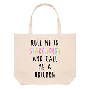 Fourre A Épaule Et Call Sac Me Rouleau tout Unicorn In Grand Plage Sparkledust vqUTngXS