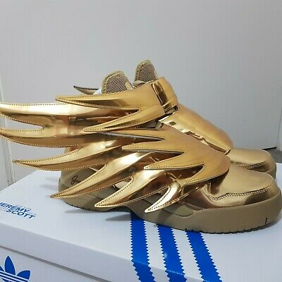 Adidas Jeremy Scott Gold Wings 3.0 New in Box US 10.5 Mens   eBay