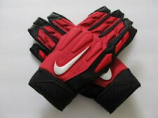 Nike D-Tack 6.0 Lineman Football Gloves University Red//Black Men/'s Large $65.00