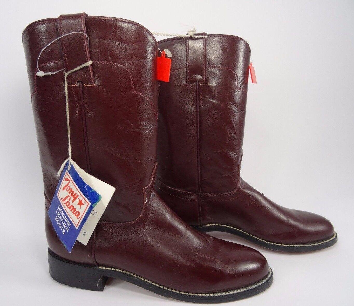 Tony Lama Roper Boots Womens size 6
