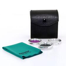 CPL UV FLD 30mm Lens Filter Kit for Sony DCR-SR45 SR42