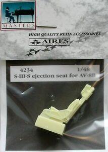 AIRES 1/48 iii-s-s siège éjectable pour AV-8B HASEGAWA KIT #4234