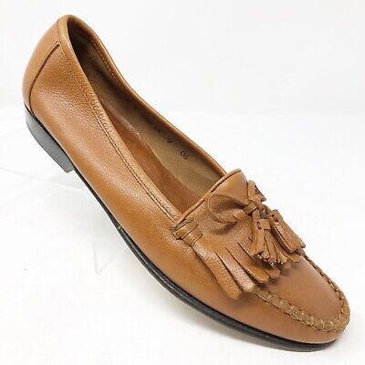 Cole Haan Women's 9 AA Brown Leather