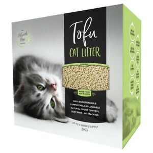 The Natural Paw Company Tofu Cat Litter 2 kg