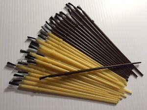 30 rod building finishing brushes for Fishing rod building tools