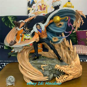One Piece Sir Crocodile Statue Gk Resin Model 75h Studio 1 6 Scale New Ebay