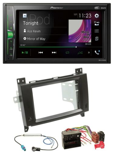Pioneer 2din mp3 DAB USB Bluetooth autoradio para Mercedes Viano Vito 06-14 NEGR