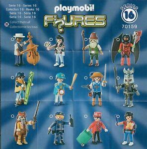 Playmobil-70159-Figuren-Figures-Serie-16-Boys-neuwertig