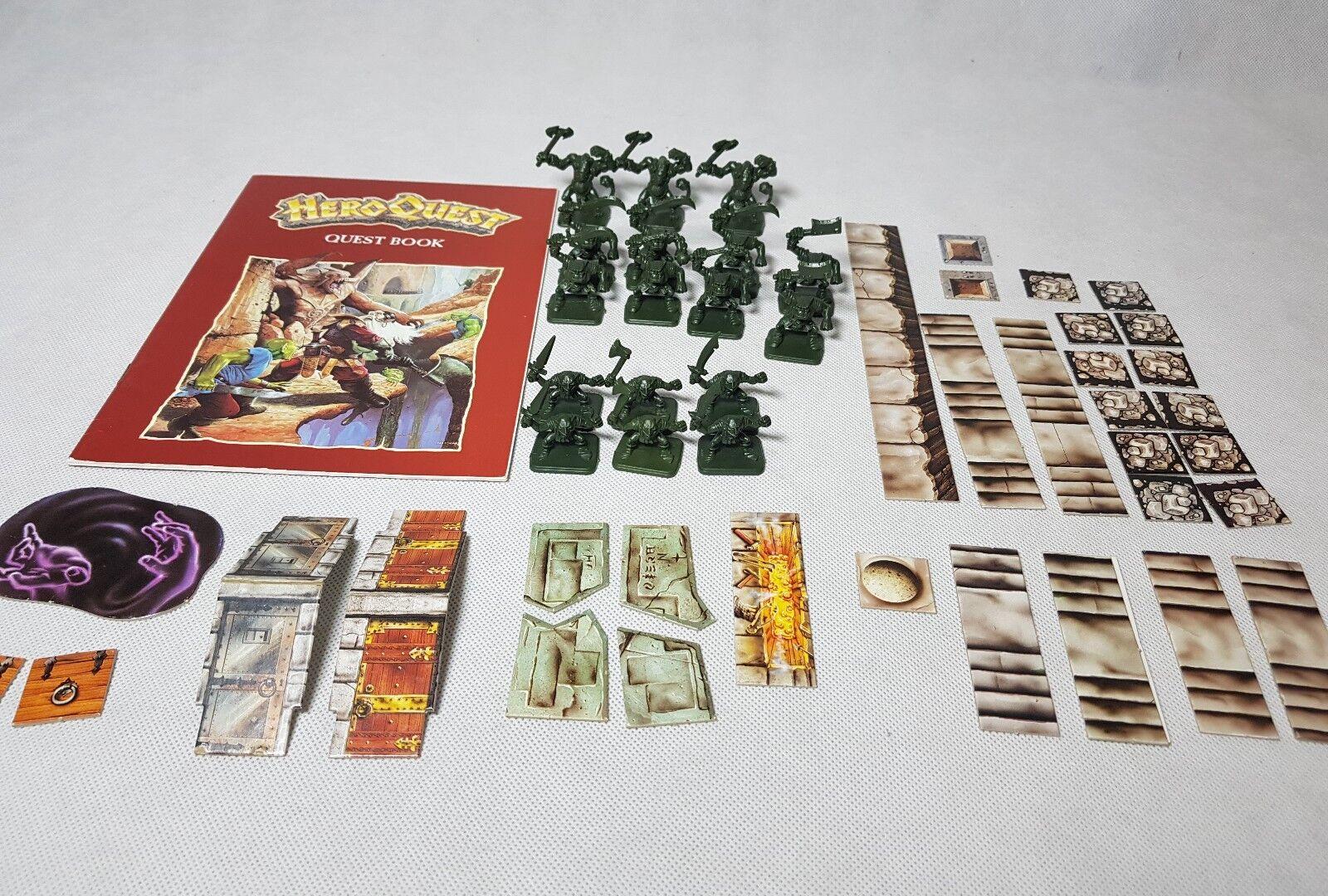 HeroQuest Kellar's Keep Expansion - unboxed, complete unpainted [ENG, 1989]